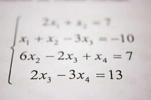 Algebra Equation Image
